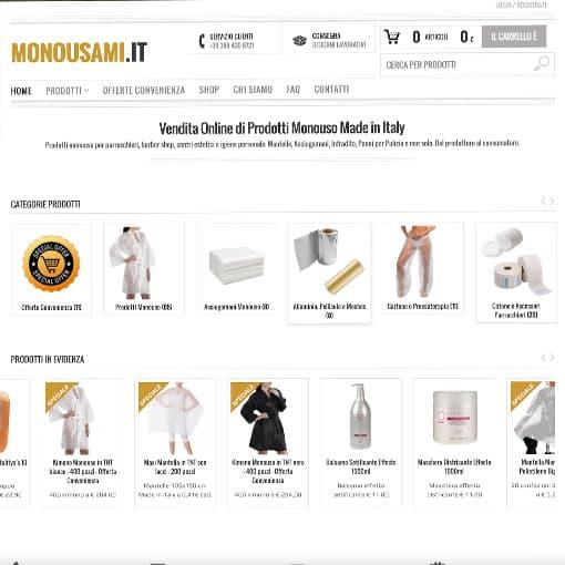 Gestione campagne Marketing per il sito monousami